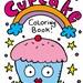 PDF Printable Digital Cupcake Coloring Book by Jelene