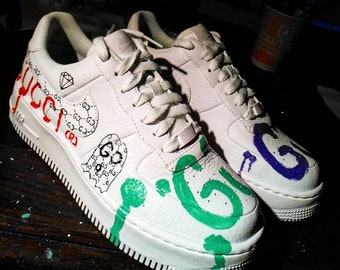 Custom Made Jordans And Air Force Ones