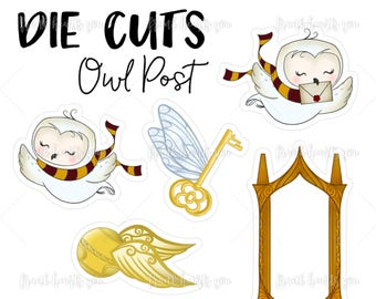 Owl Post - Die Cut Pack #1