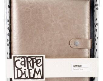 Carpe Diem A5 Planner - Binder Only ,Platinum