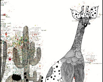 Cactus Giraff