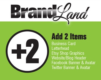 Add-On to previous Logo Purchase - 2 Items
