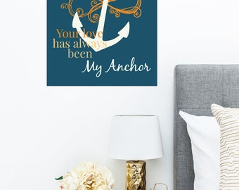 Gift for Mom - GIft Under 20 - Mothers Anchor Print - Mother's Day Gift - Birthday Gift For Mom - Special Someone - Gift for Her