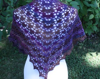 Crocheted Shawl/Scarf/Wrap
