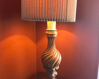 Beautiful Hollywood Regency Style Marbro Lamp