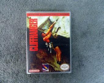 Cliffhanger Custom NES/Nintendo Case Only (***No Game***)