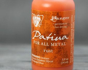 Vintaj Rust, Orange patina, vintaj paints, vintaj patinas, patina paints, Metal Patina, Rust  patina, INV0017