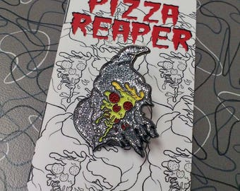 Pizza reaper pin