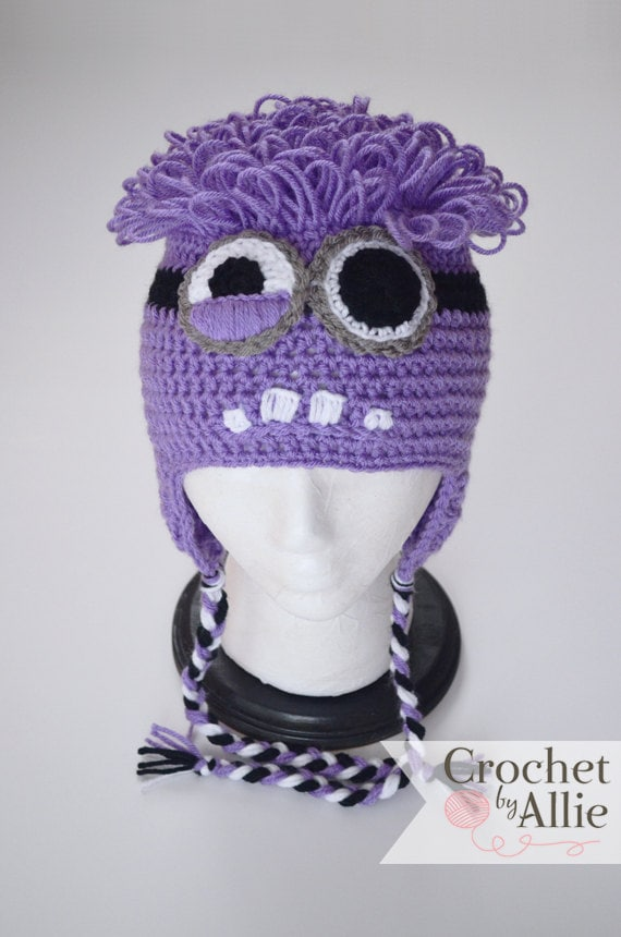 Attractive Minion Beanie Crochet Pattern Composition Sewing