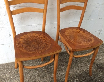 2 Vintage Luterma chairs Made in Estonia bistro chairs awesome seats