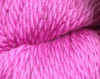 Rosebud Pink Cascade 128 Bulky Superwash Yarn 128 yards 100% SuperWash Wool color 233