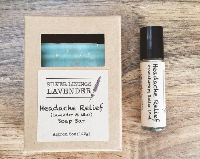 Headache Relief Aromatherapy Set