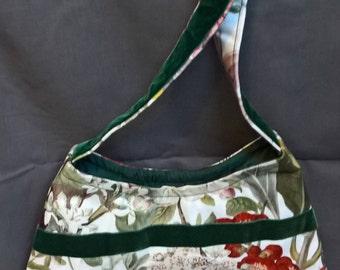 Floral Vintage Inspired Handbag