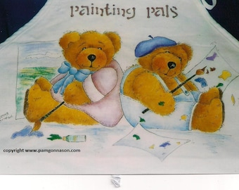 """Decorative  (tole) Painting Pattern Packet """"Painting Pals"""""""