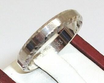 333 ring of gold friendship ring 19.4 mm GR113