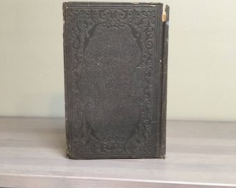 1856 Annual Report of the Smithsonian Institution, Antique Illustrated Book, U.S. History Book
