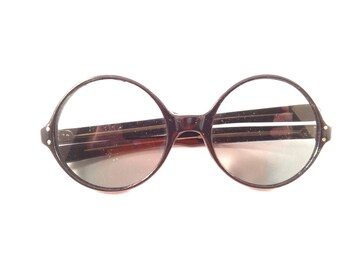 Black Framed Sunglasses with Black Tinted Lenses, All Plastic, Excellent Condition