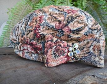 Vintage Tapestry Hat