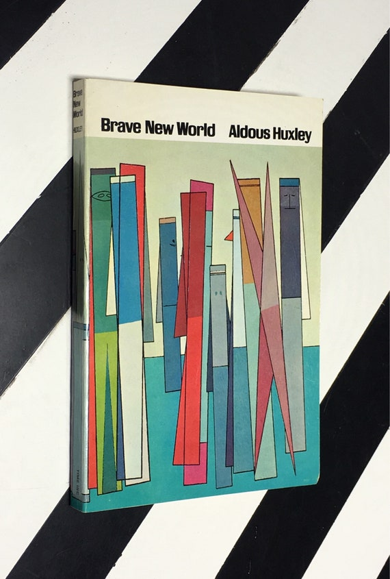 Brave New World by Aldous Huxley (1963) softcover book