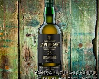 Laphroaig 25 Years Print