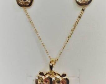 Earrings & Necklace set 2 gift/birthday/graduation