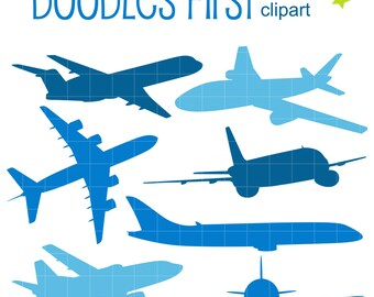 aircraft clipart etsy rh etsy com airplane clip art free download airplane clipart border