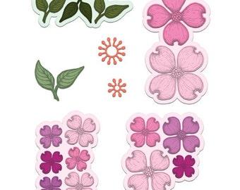 Heartfelt Creations Flowering Dogwood Die HCD1-7129