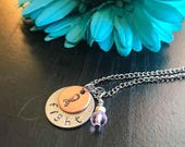 Breast cancer necklace, I...