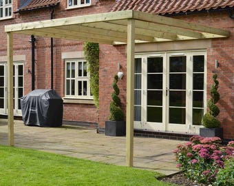 Lean to box Pergola