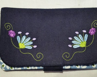 """Purse """"Flower embroidery"""""""