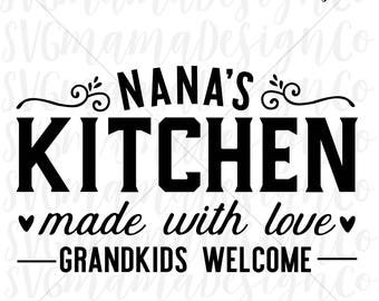 Kitchen sign svg | Etsy