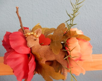 Fauna Floral Fairy Style Handband