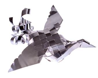 Aluminum Peace Bird- LARGE