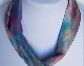 NK 57 - Handpainted Silk Necklace