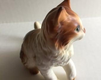 Vintage Ceramic Cute Cat Midcentury Lefton #H2942