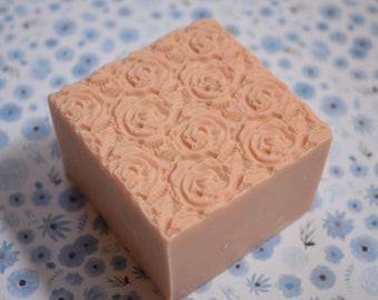Toasted Almond Homemade Bar Soap, homemade soap, almond soap, gift for mom, gift for her, Almond Soap