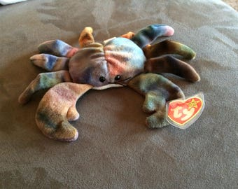 "Ty ""Claude the Crab"" original beanie baby"