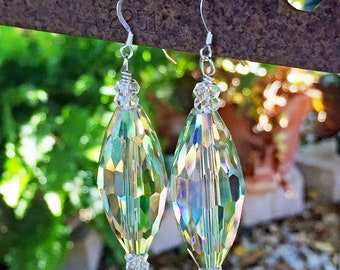 Crystal Statement Dangle Earrings