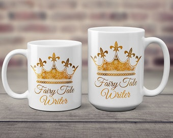 Fairy Tale Writer Coffee Mug - Author - NaNoWriMo