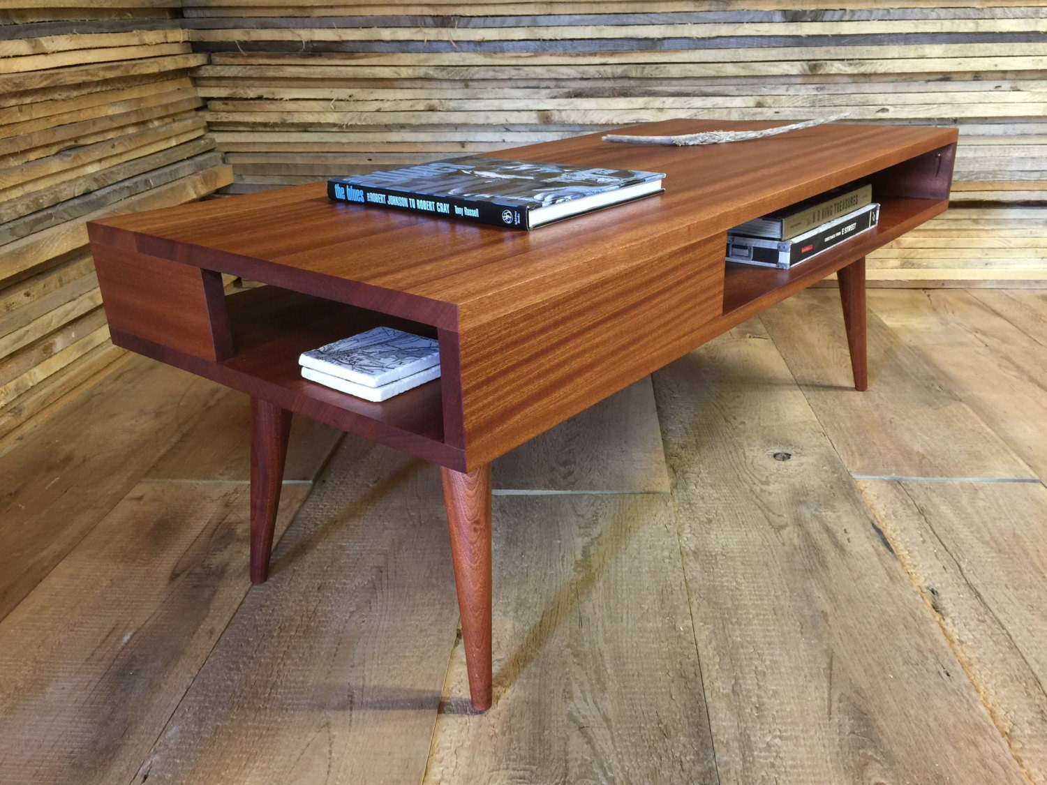Thin man mid century modern coffee table with storage zoom geotapseo Image collections