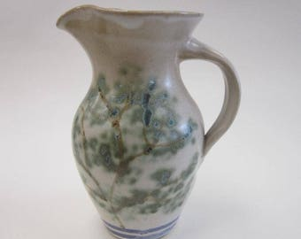 Pitcher with Tree Design