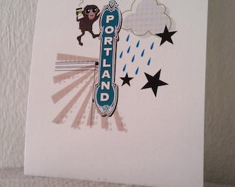 "Bigfoot in Portland 5X7"" Prints"