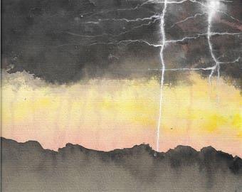 Lightning Storm print