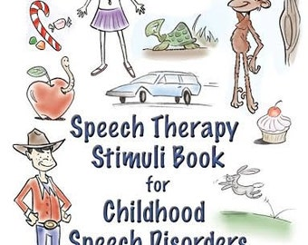 Sale--Speech Therapy Stimuli Book for Childhood Speech Disorders