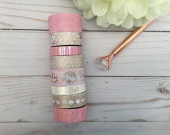 "Shells & Pearls  Washi Tape Samples | 24"" sample"