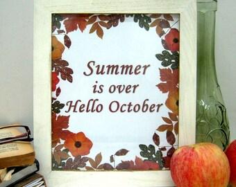 Autumn Wall Art - Fall Printables - Instant Download - Fall Wall Art - Autumn Printables - Fall Print - Autumn Wall Decor