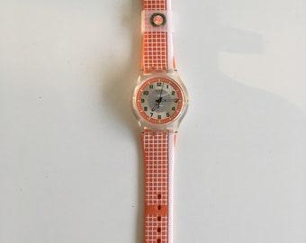 Swatch watch, horloge. Roland Garros, vintage watch. 2007.