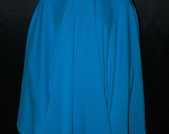 Bamboo Fleece Spandex knit fabric sweatshirt weight pure luxury PrettyTurquoise