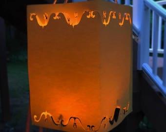Tangled Lantern | Rapunzel Lantern | Large Plain Hanging Lantern