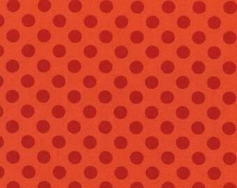 Spot On Tangerine Dots From Robert Kaufman